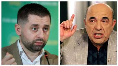 Поцелуем Путина во все места, – Арахамия отчитал Рабиновича, который ездил в Кремль