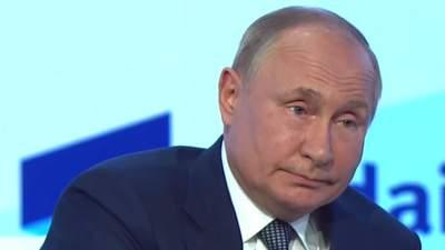 """""""Ракеты под носом будут"""": Путин считает, что Украине открывают двери в НАТО"""