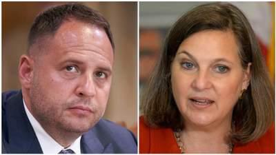 У  Зеленского обсудили с Нуланд ее визит в Москву