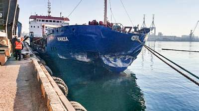 Судно протаранило причал под Одессой: предполагают ошибку экипажа