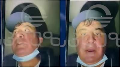 В контейнере с молочными продуктами: Саакашвили записал видео о своем якобы похищении