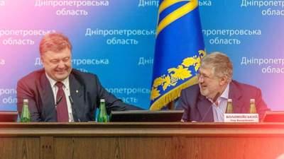 Несмотря на публичную ненависть: как Порошенко тихо сотрудничает с Коломойским