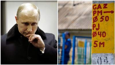 После решения Украины о помощи Россия планирует полностью прекратить поставки газа Молдове