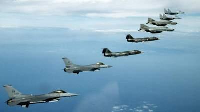 У Прибалтиці з'явилася нова авіабаза НАТО