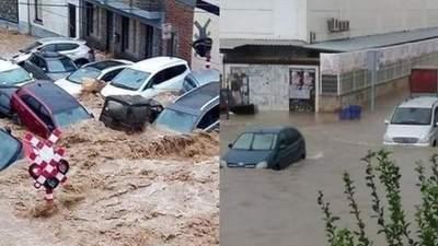 Дома затоплены, а авто плывут по улицам: Испания пострадала от сильного наводнения