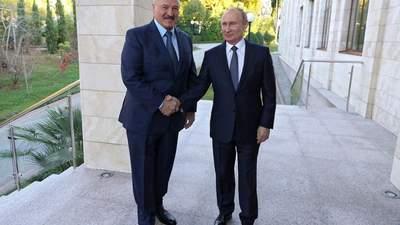 Медіаскандал: білоруське ТБ потролило Путіна, а російське – розкритикувало Лукашенка