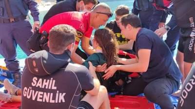 Украинская парашютистка сорвалась в море в Турции: в каком она состоянии