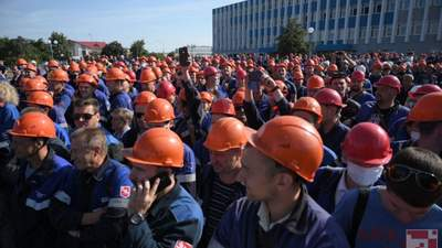 Белорусские рабочие объявили общенациональную забастовку