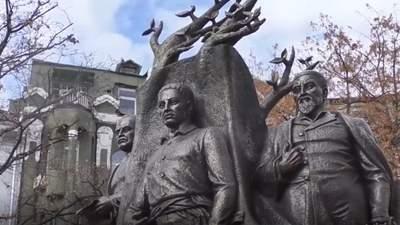 В историческом центре Харькова открыли новый Сквер Мыслителей