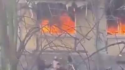 В России снова взрыв в жилом доме: детей сбрасывали через окна