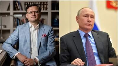 Кулеба заявив, що вважає Путіна вбивцею