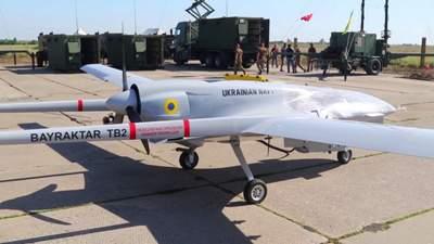 Вооруженные силы впервые применили беспилотники Bayraktar на Донбассе: мощное видео