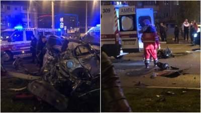 Обломки и тела разбросаны по дороге: в Харькове произошло смертельное ДТП – фото и видео аварии