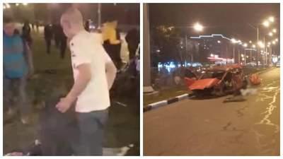 Гонял без удостоверения, авто принадлежит матери: подробности ДТП в Харькове с мажором