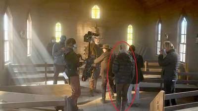 У мережі показали фото Галини Гатчінс на знімальному майданчику перед вбивством