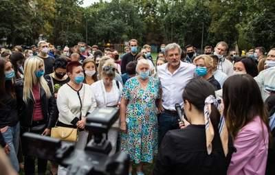 Пальчевский все же идет в мэры, определиться помогли избиратели