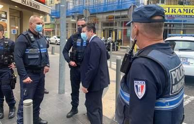 У Ніцці зі стрільбою спіймали терориста: відео затримання