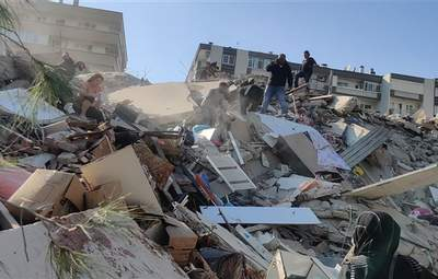 Сокрушительное землетрясение в Турции: число жертв возросло до 114 человек