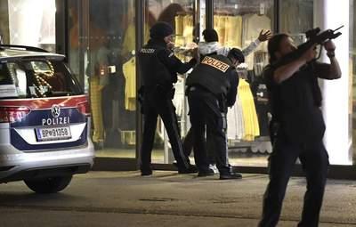 Теракт у Відні: серед затриманих є громадяни Росії