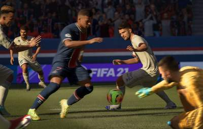 Украинец попал в команду недели FIFA 21: какие показатели он получил в игре