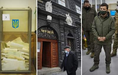 Главные новости 6 ноября: результаты выборов, обновленные зоны карантина, заявления Зеленского