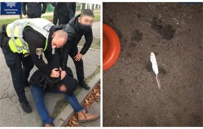 Неизвестный с ножом напал на людей в Кривом Роге: 2 погибших, 8 раненых – фото