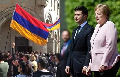 Головні новини 10 листопада: у Вірменії поновилися протести, Зеленський поговорив з Меркель