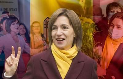 Результати виборів президента Молдови: ЦВК оголосила про перемогу Санду