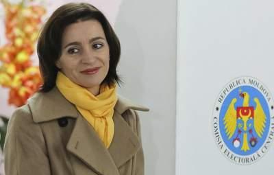 Будущий президент Молдовы Санду хочет дружить с Украиной