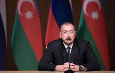 Алієв прибув до Нагірного Карабаху: як його там зустріли – відео