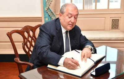 Президент Вірменії Саркісян виїхав до Москви: перші деталі