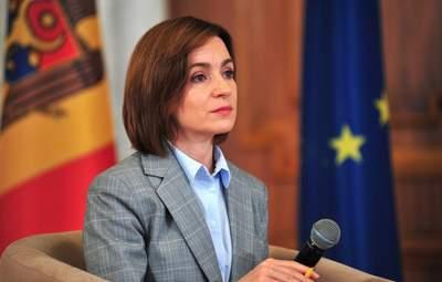 """Майя Санду заявила о попытке """"захвата власти"""" в Молдове"""