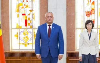 Демарш від чинного президента Молдови: Додон таки врізав повноваження Санду