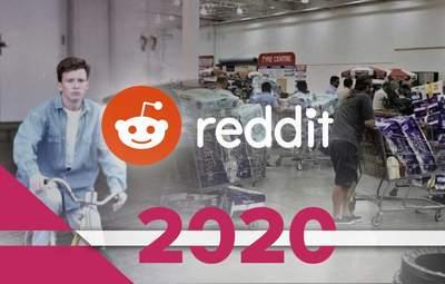 Известный исполнитель 80-х и мем про плоскую Землю: самые популярные посты на Reddit в 2020 году