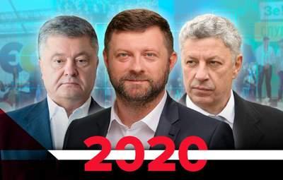 Рейтинги политических партий Украины: как изменились за 2020 год
