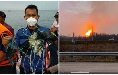 Главные новости 9 января: крушение самолета в Индонезии, взрыв на газопроводе в Лубнах