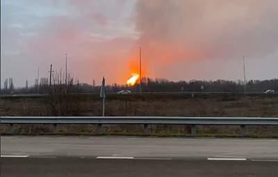На Полтавщині стався вибух через аварію на газопроводі: відео