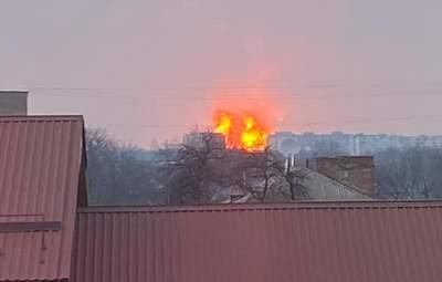 """""""Страшне видовище, тремтіли шибки"""": очевидці розповіли деталі вибуху на Полтавщині"""