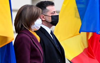 Зустріч Зеленського і Санду: про що говорили президенти – відео