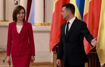 В костюмі кольору фуксії: президент Молдови Майя Санду прибула з першим візитом в Україну