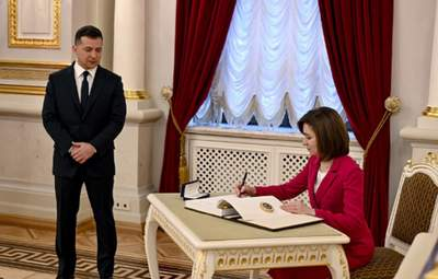 Зеленський і Санду домовились створити президентську раду: що це означає