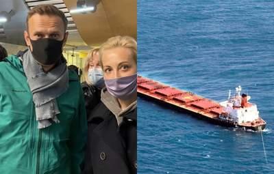Головні новини 17 січня: Навального затримали у Росії, катастрофа з українцями у Чорному морі
