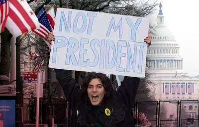 Після інавгурації Байдена у США спалахнули протести: фото, відео