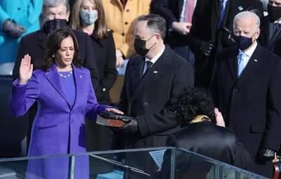 Вице-президент США Камала Харрис приняла присягу