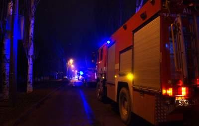 В Запорожье объявили траур из-за пожара в больнице