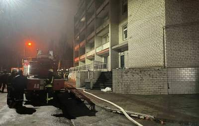 Мы вместе с Украиной, – в ВОЗ отреагировали на смертельный пожар в больнице в Запорожье