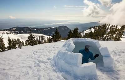 Укрытие, которое защитит от холода и снега: как построить иглу – пошаговая инструкция