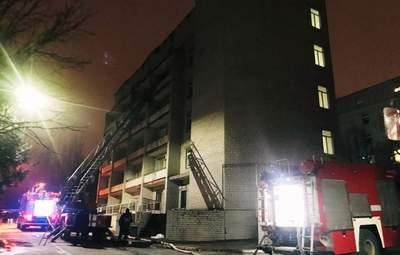 Директора больницы, которая горела в Запорожье, хотят отстранить