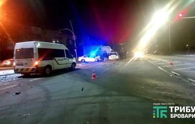 Нетрезвый несовершеннолетний вызвал смертельное ДТП в Броварах: погиб мужчина – фото, видео
