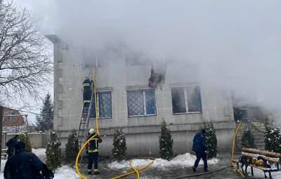 Кабмин озвучил официальную причину пожара в доме престарелых в Харькове